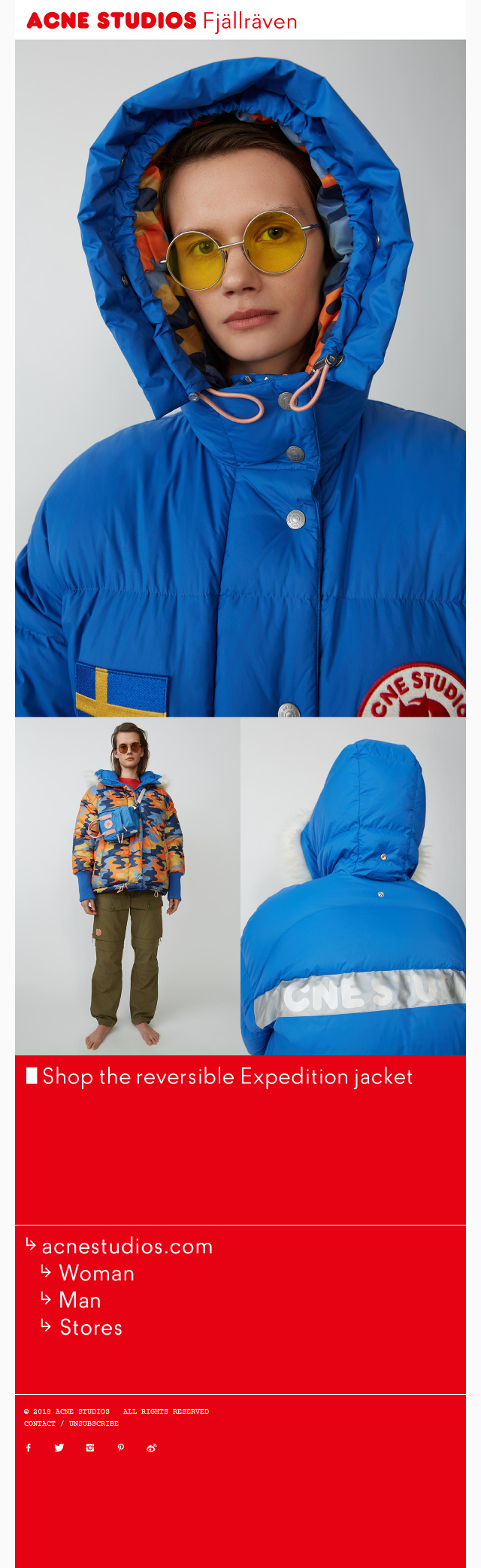 Acne Studios Fjällräven Expedition jacket