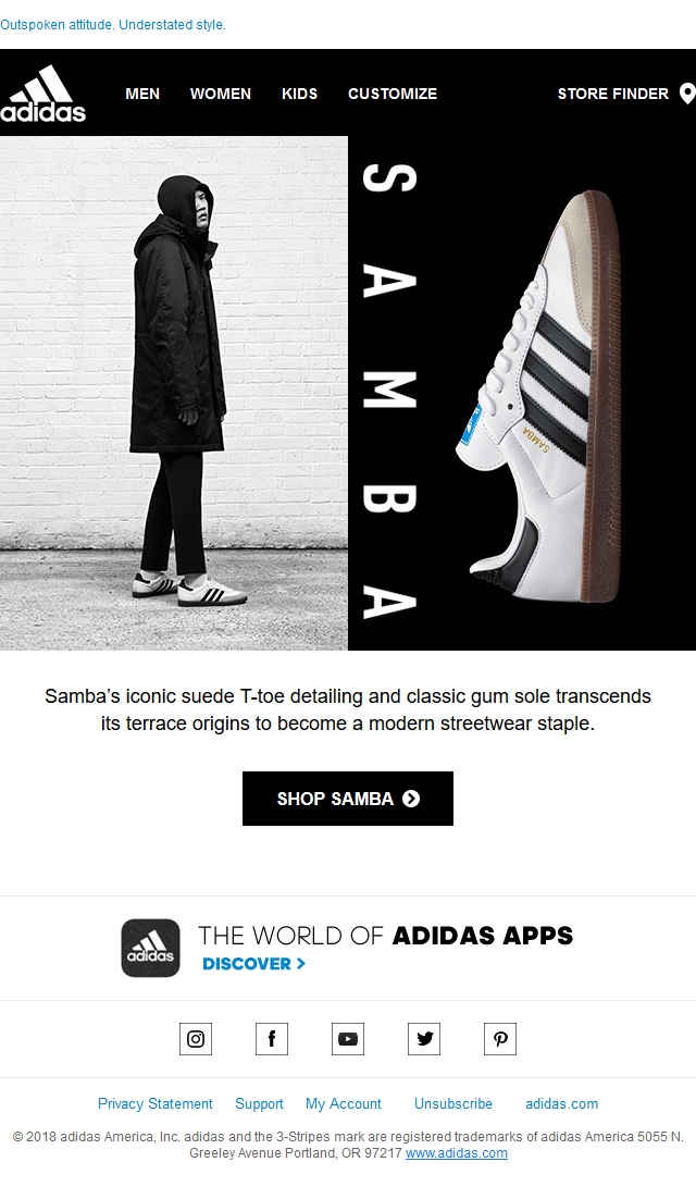 adidas Originals - Samba Returns