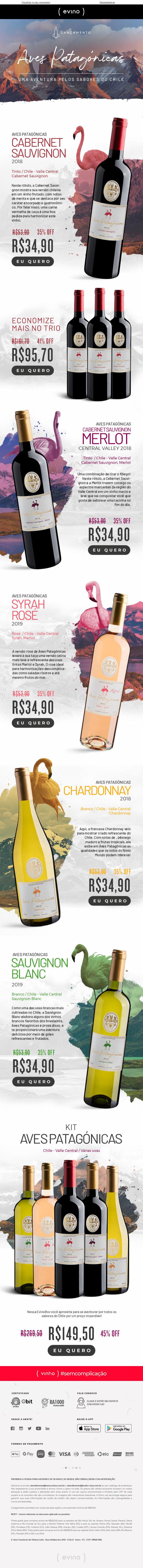 Cabernet Sauvignon inédito cultivado nos ricos terroirs do Chile