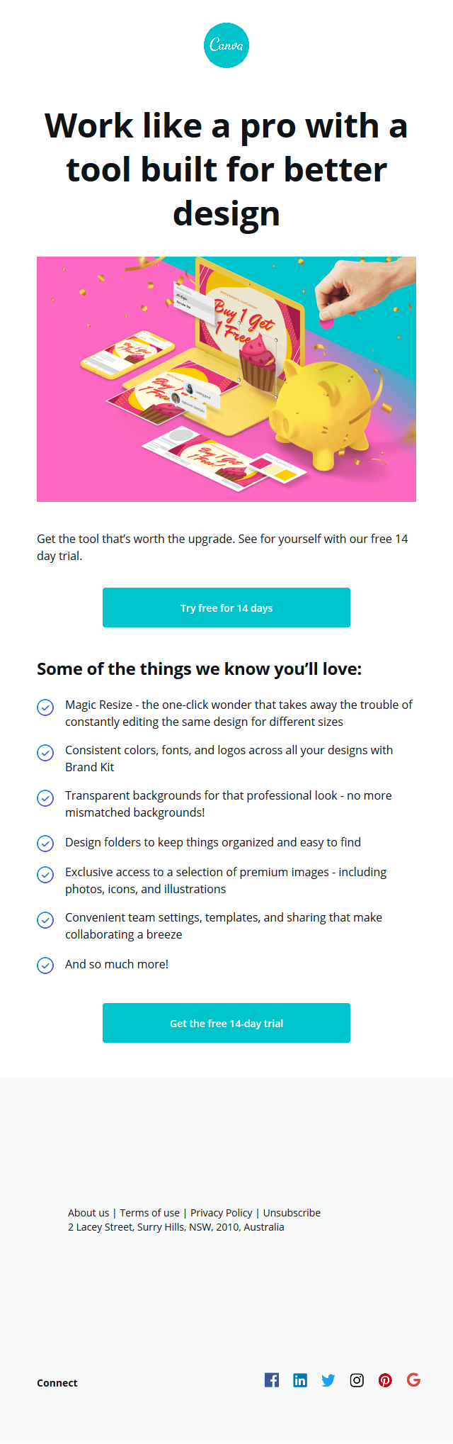 Canva for Work just $9.95 for one week only