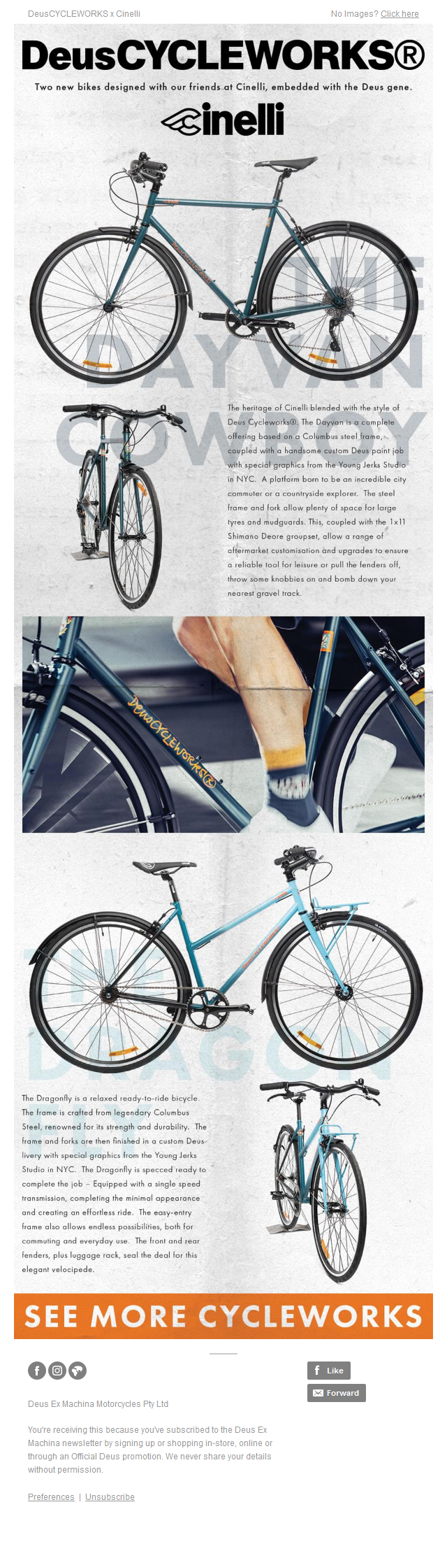 DeusCYCLEWORKS Bicycles - Limited Edition