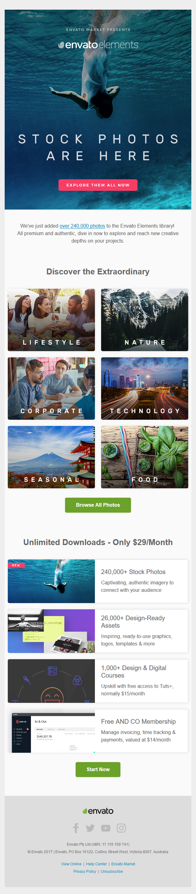 Dive into Unlimited Stock Photo Downloads Now