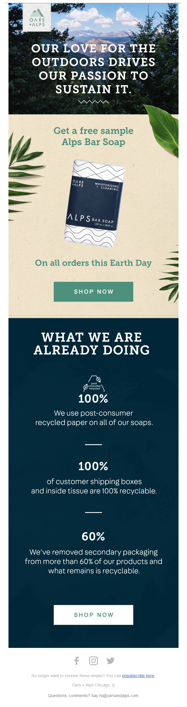 Earth Day Gift