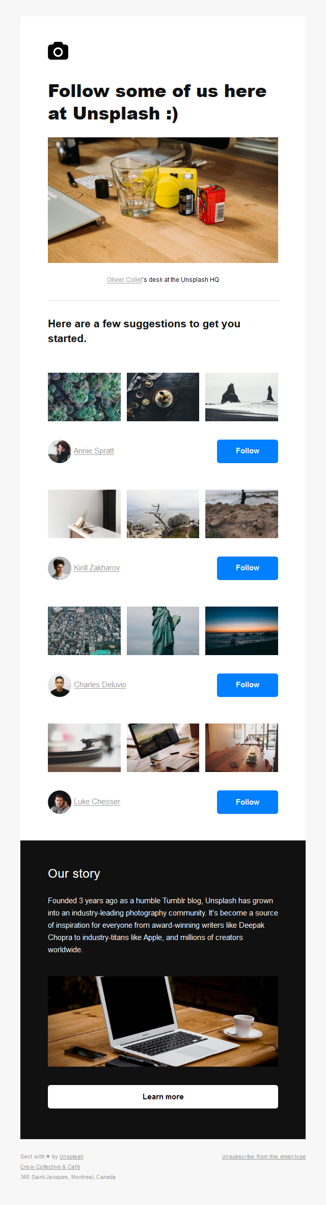 Feed your feed: Follow some photographers