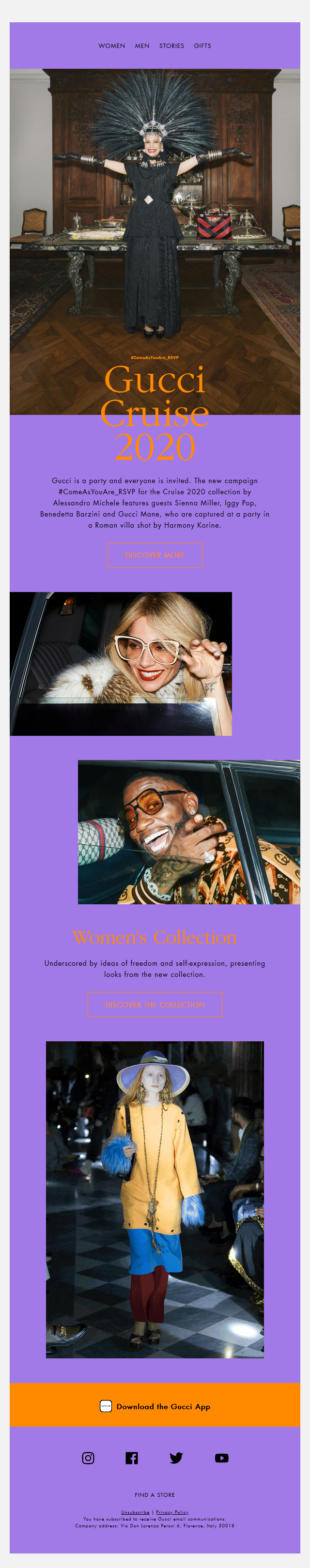 Gucci is a Party and Everyone is Invited