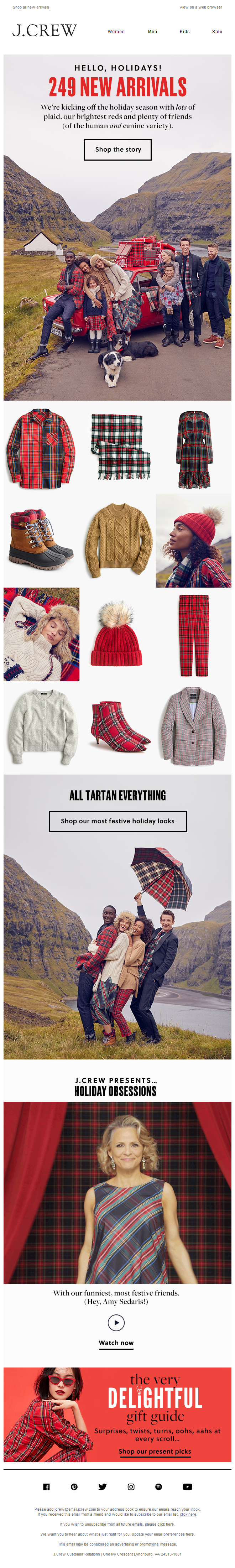 Hello, holidays! 249 NEW ARRIVALS just landed…