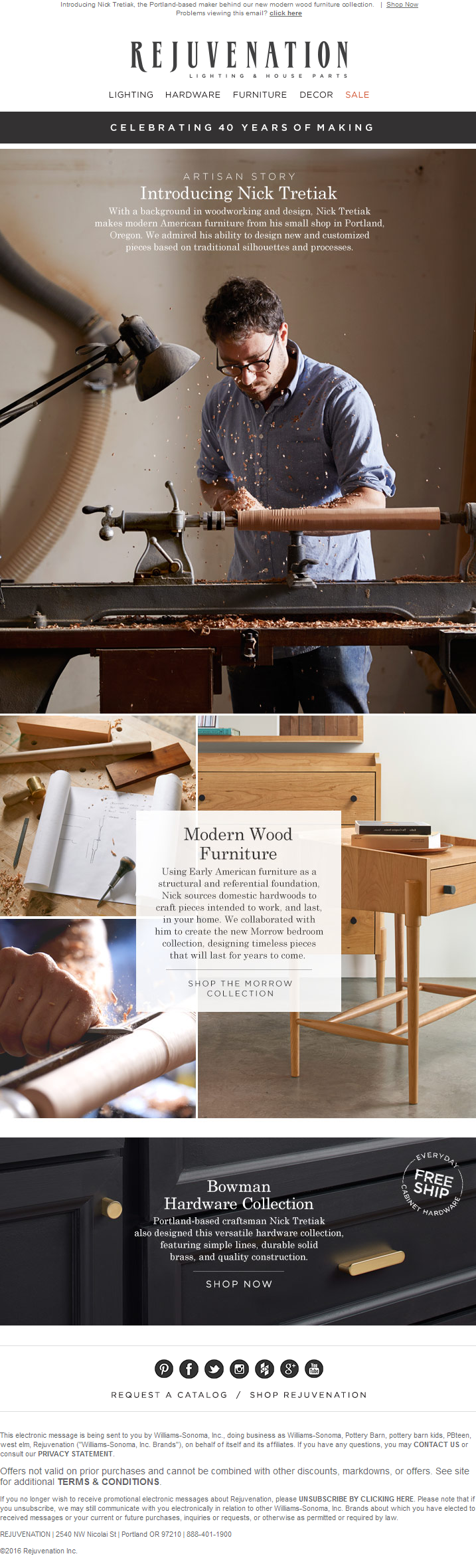 The Inside Story on Our Exclusive Morrow Collection