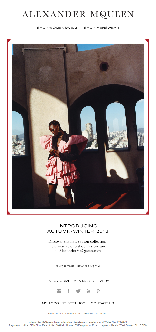 Introducing Autumn/Winter 2018