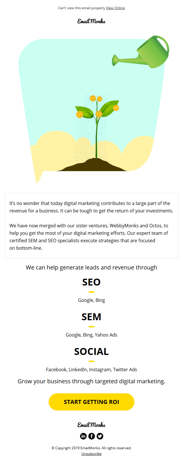Invest in targeted digital marketing