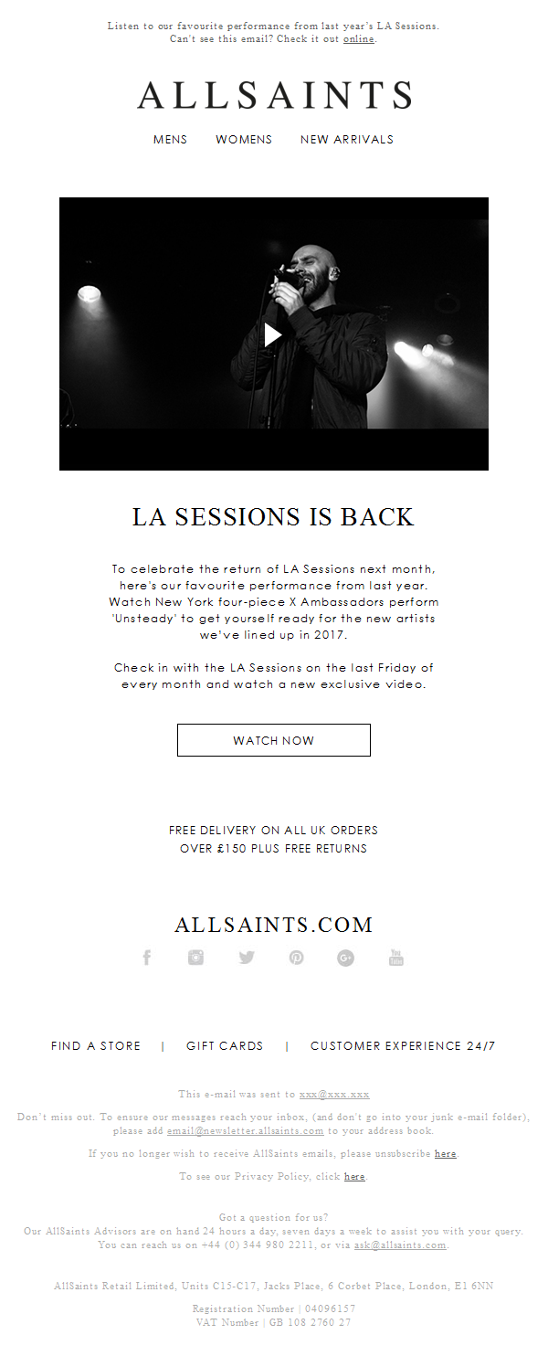 The LA Sessions returns
