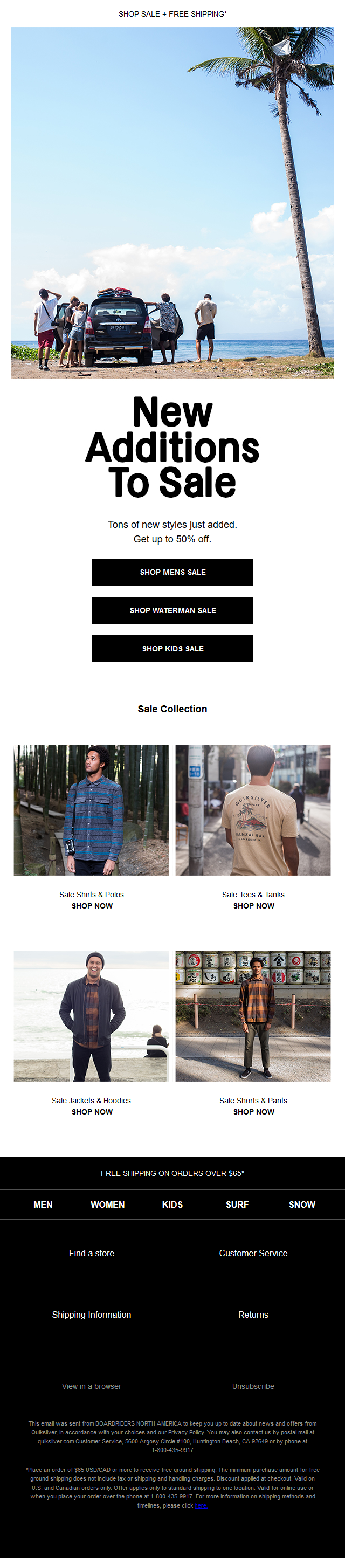 New Additions To Sale: Get Up To 50% Off