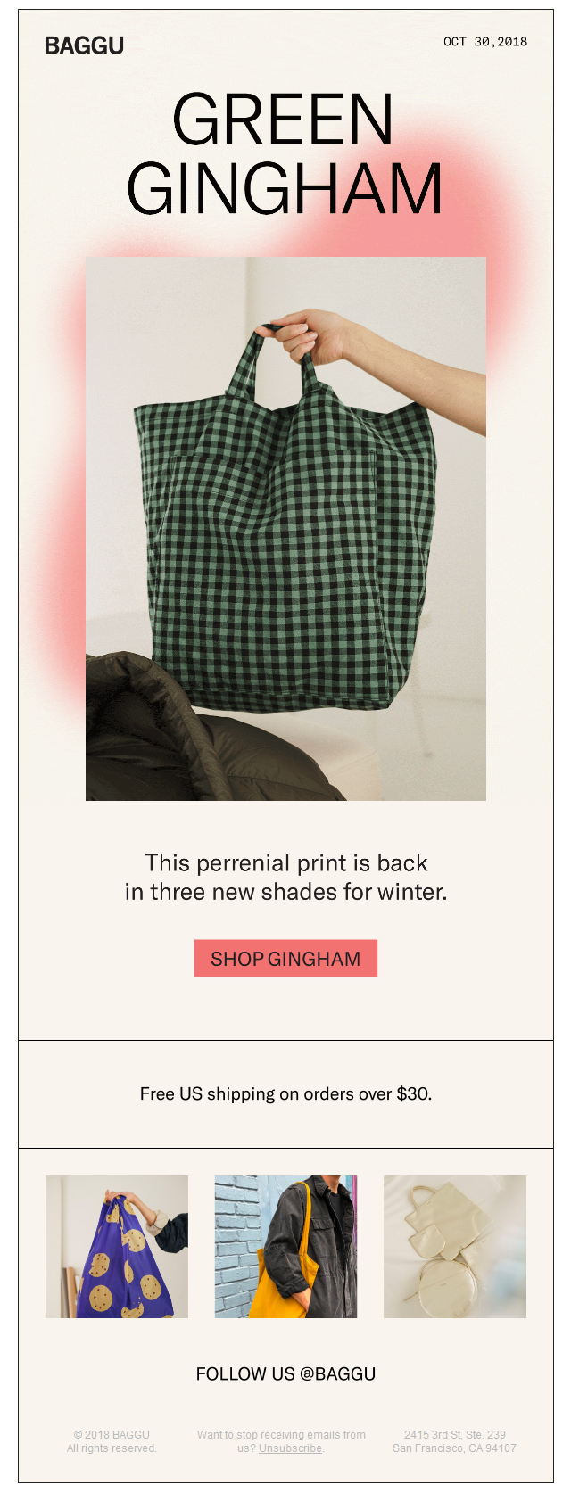 New Hues In Gingham