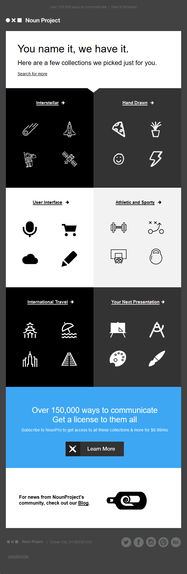 Noun Project - Icons picked just for you