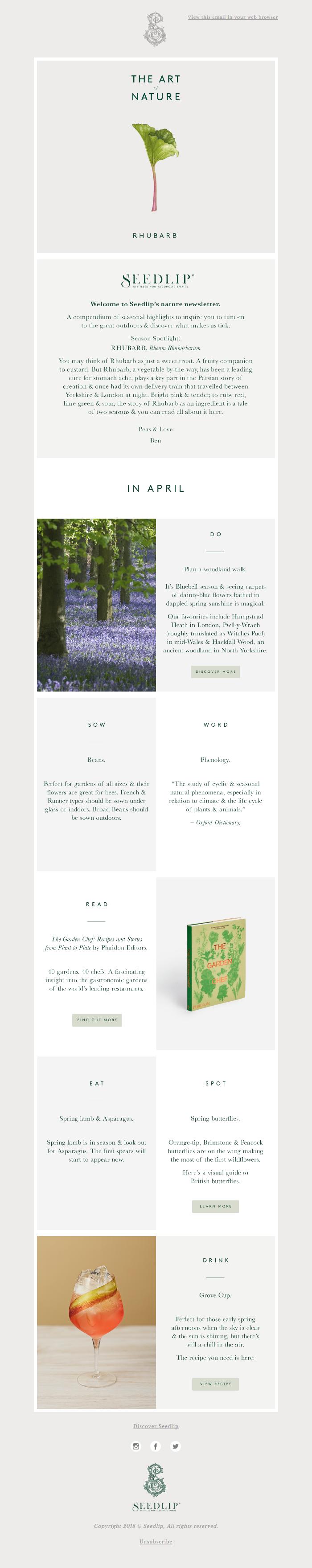 Rhubarb: a tale of two seasons