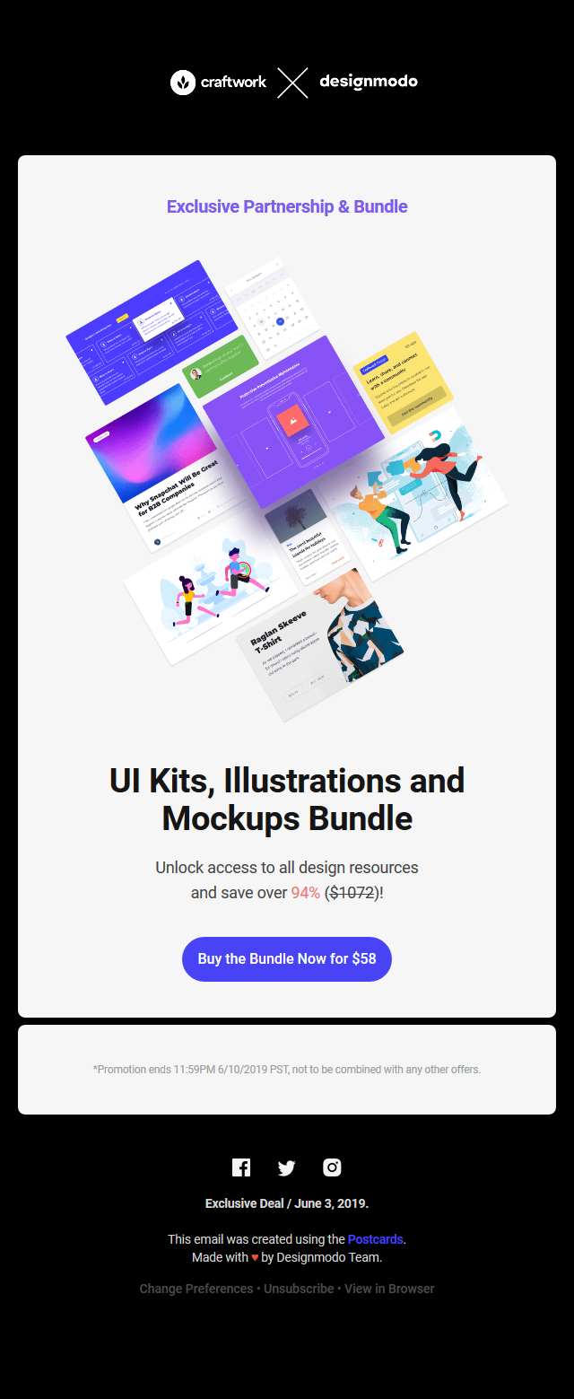 Save $1,014 on UI Kits, Illustrations and Mockups, Exclusive Bundle