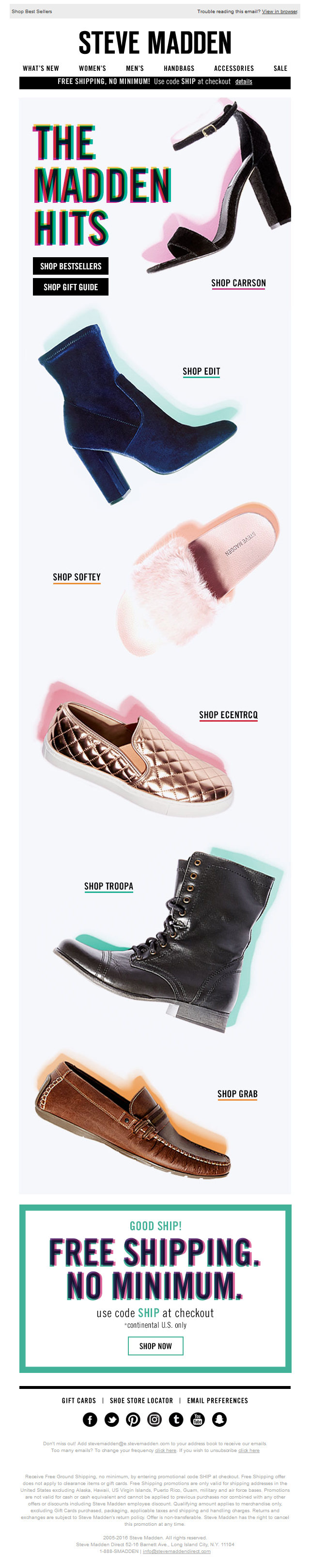 Steve Madden - Only the best for you