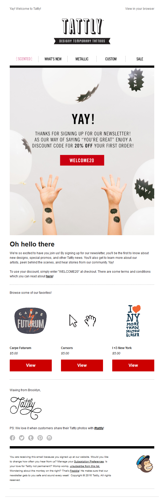 Tattly - Welcome!