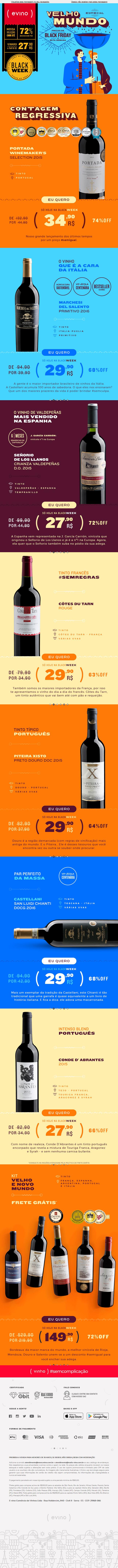 Vinhos a partir de 27,90 I PORTADA por 34,90 I Kit FRETE GRÁTIS - Confira!