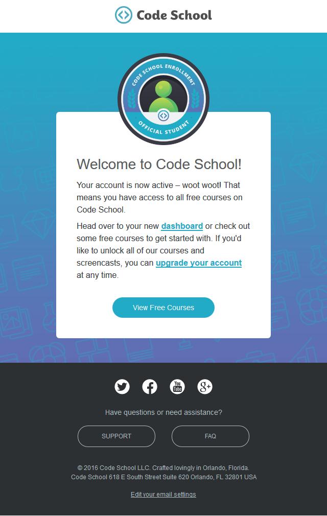 Welcome to Code School!