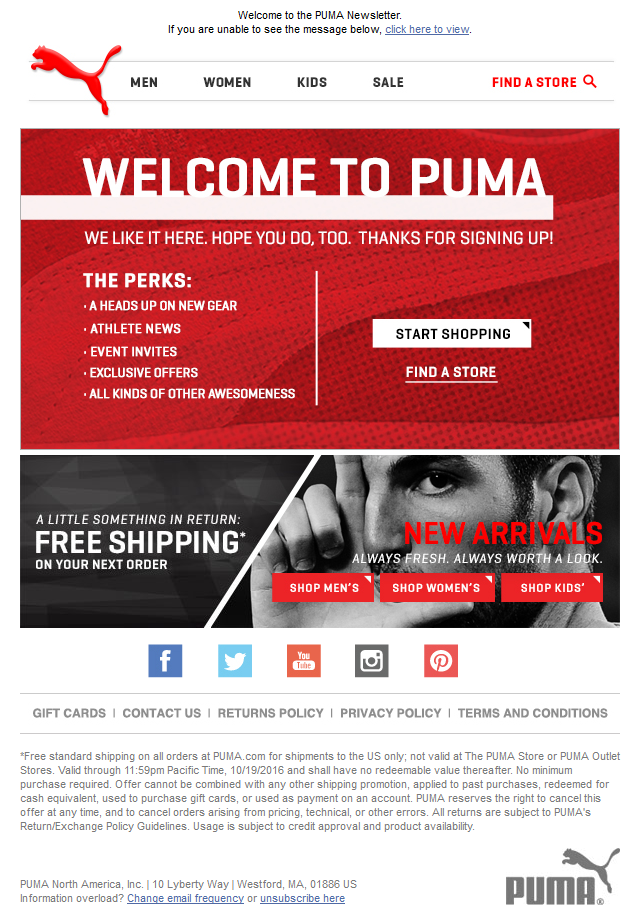Welcome to Puma