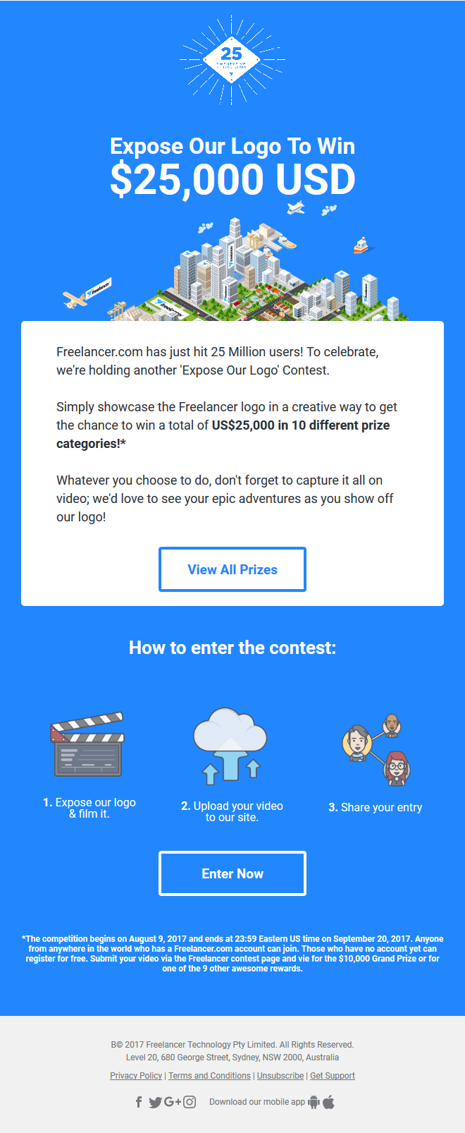 We've got $25000 USD in prizes up for grabs. Are you up to the challenge?