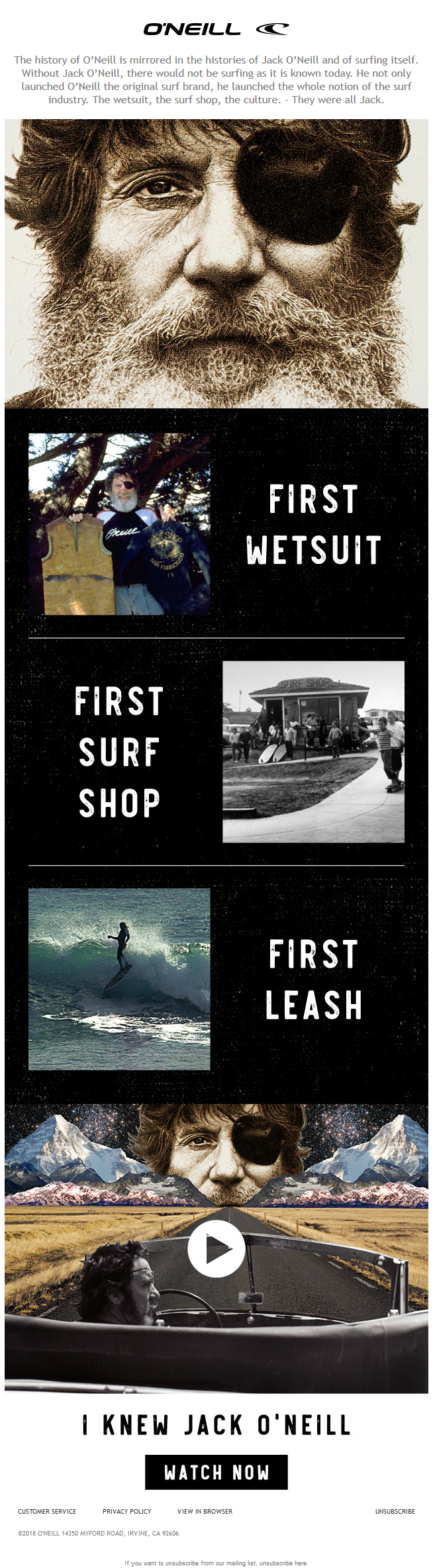 What Makes O'Neill The Original American Surf Brand?