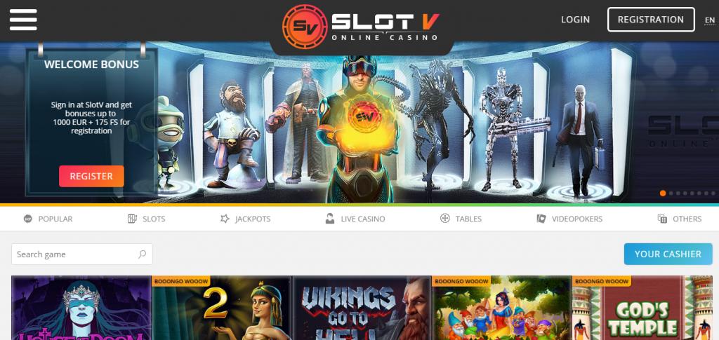 официальный сайт slotv com