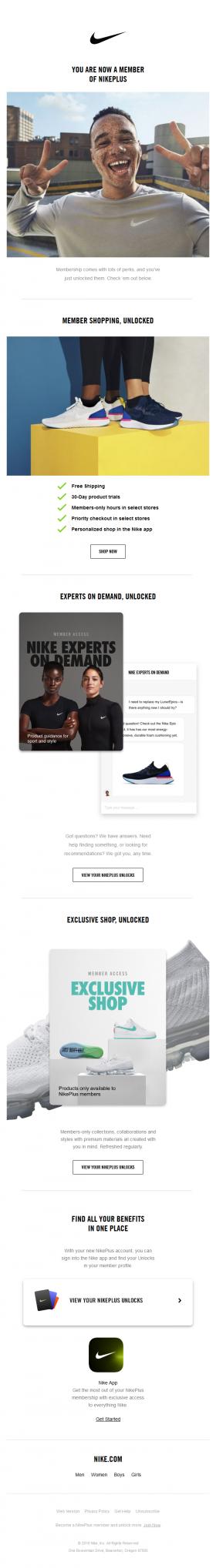 save off cbd15 90b89 Welcome to your NikePlus membership