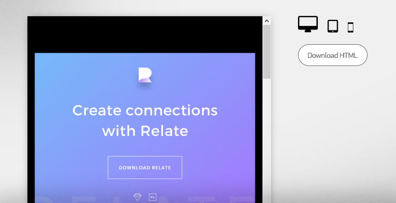 InVision - Create connections with Relate UI kit