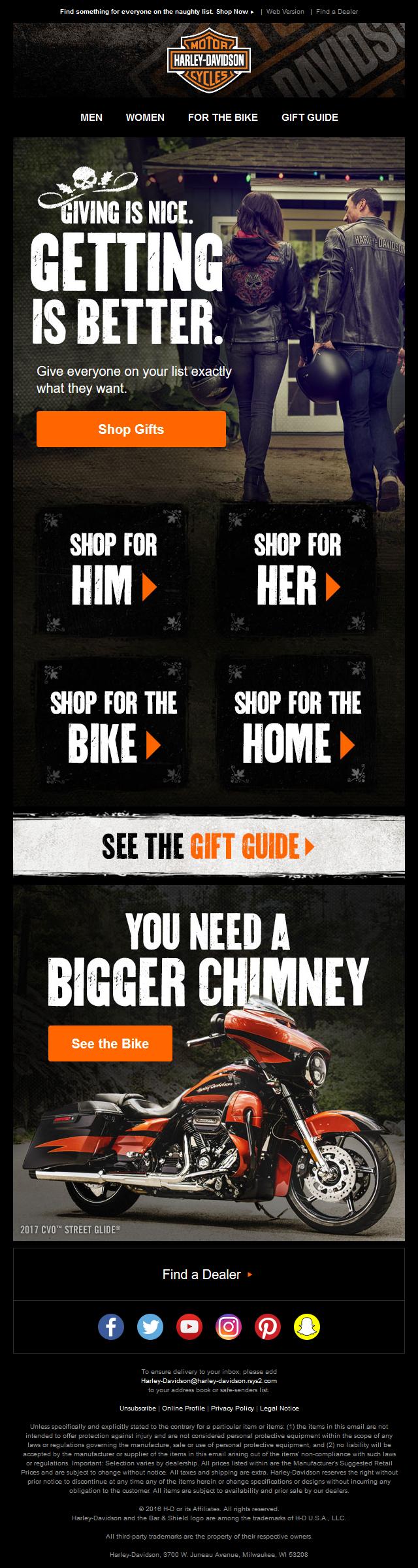Harley-Davidson - The Baddest Deserve the Best