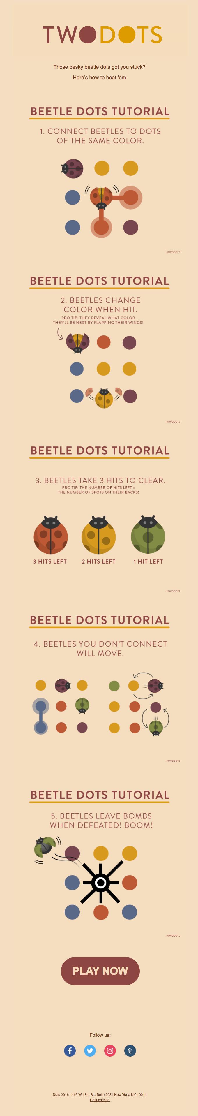 Beetle dots tutorial