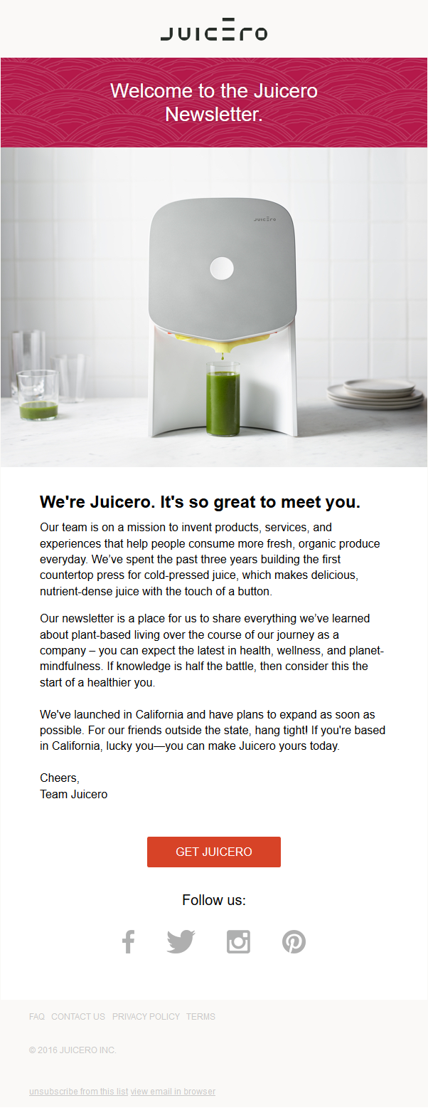 The Start of Something Good | Juicero Weekly